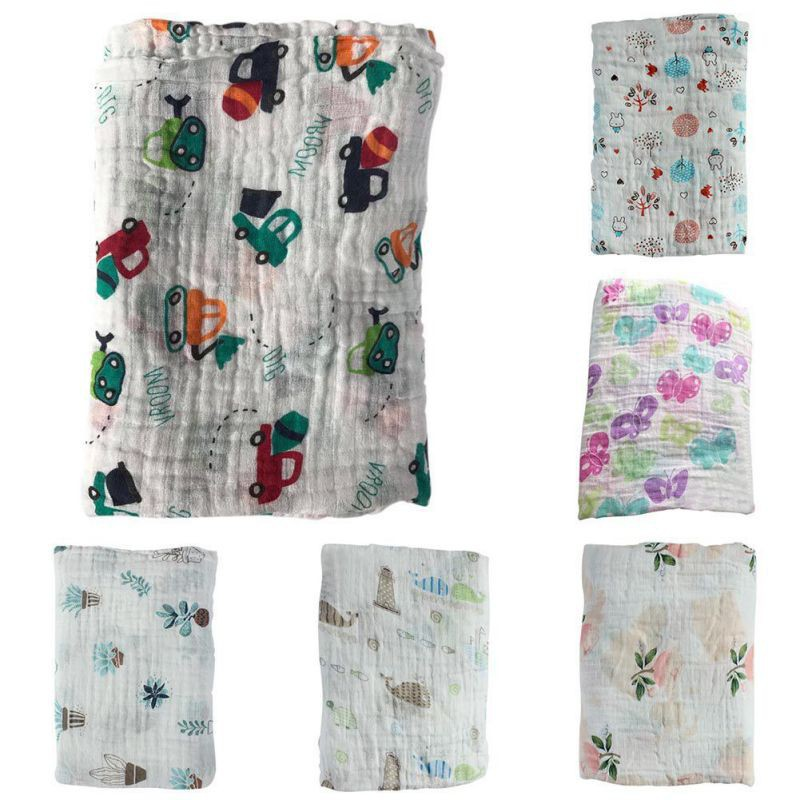 Khăn tắm cotton cho bé sơ sinh