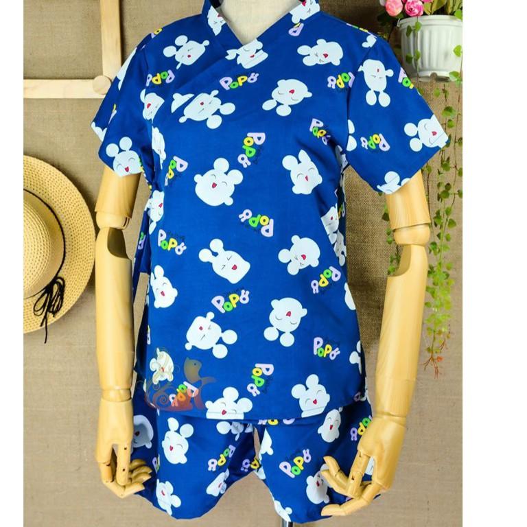 """Bộ đồ mặc nhà Kimono Kate Thái - """"Thỏ Popo"""" Siêu Cute - Dưới 60kg"""