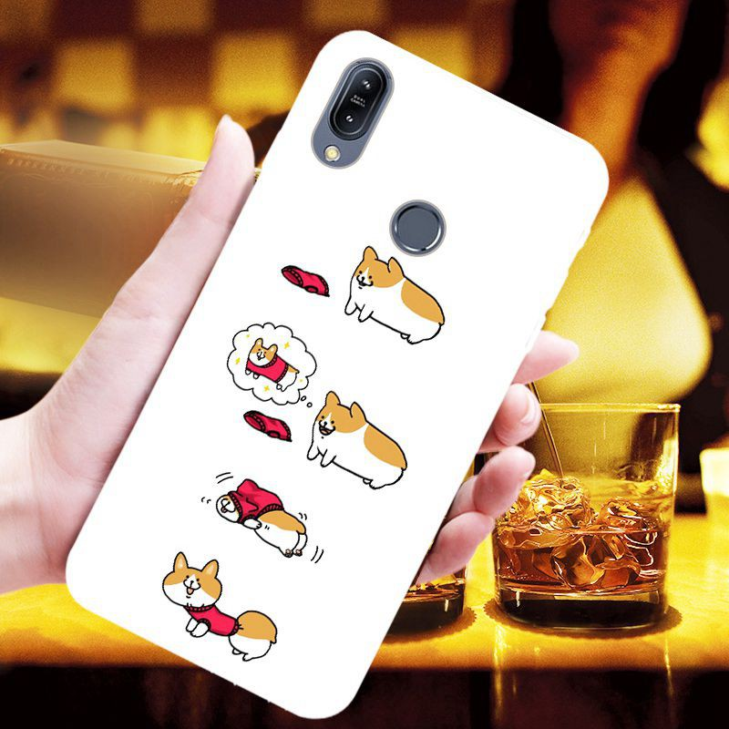 For Asus ZenFone Max M2 ZB633KL Simple and cute TPU phone case