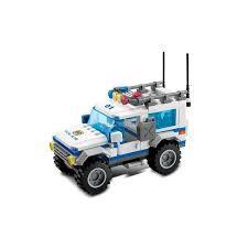 Lắp ráp xếp hình Lego Police Gudi 9312: Xe Suv của cảnh sát