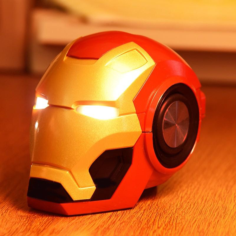 Iron Man Bluetooth Speaker & Radio Wireless Bluetooth Speakers Avengers Music With FM Radio Support TF Card For Phone