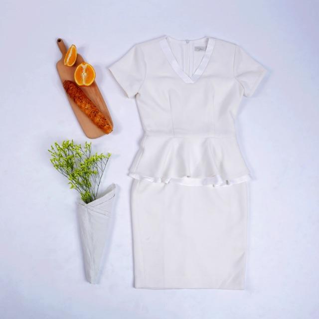 Set áo sơmi và đầm công sở