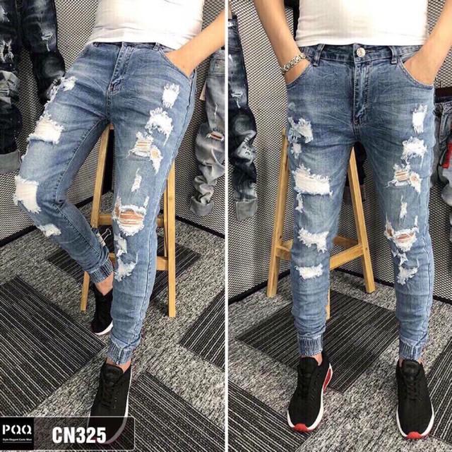 - Jeans Cao Cấp Quần jean nam cao cấp TCS 325