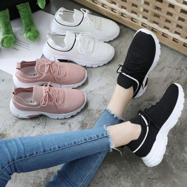 Giày thể thao nữ giày độn đế