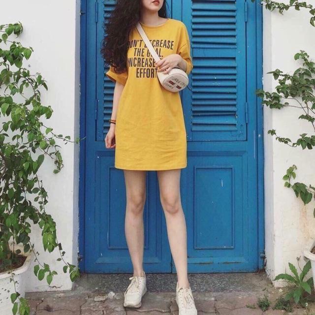 Váy chữ cotton