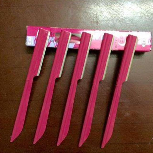 Bộ 5 dao cạo lông mày KAI