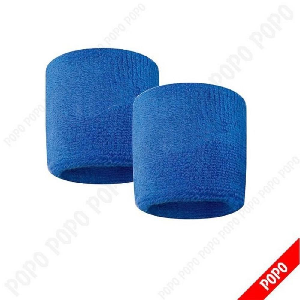 Băng cổ tay thể thao nam thoáng khí Bộ 2 cái (BLUE) thấm mồ hôi, mềm mại, bảo vệ cổ tay