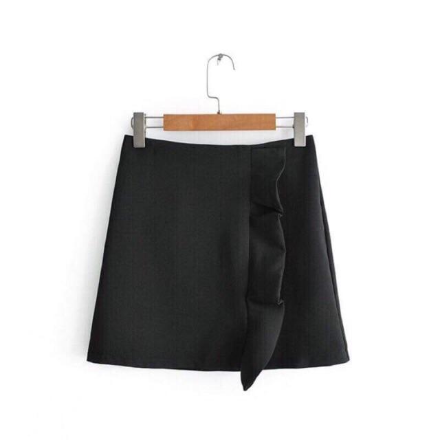Chân váy đen Xk