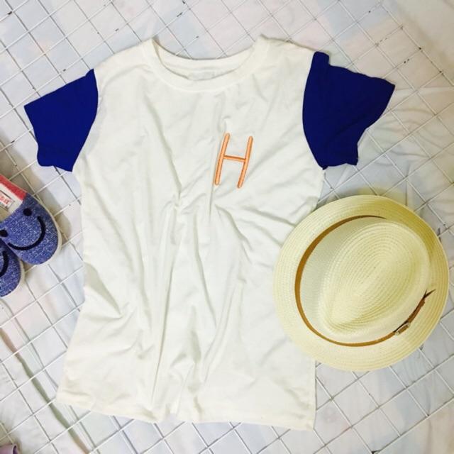 Áo thun chữ H form rộng ( áo phông)