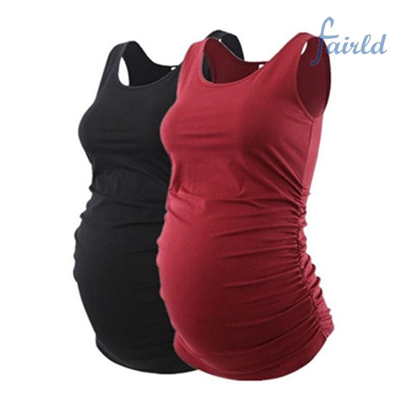 Freeship từ 50K - Clothing Women's Tops Summer Pregnant Maternity Casual Polyester various colors