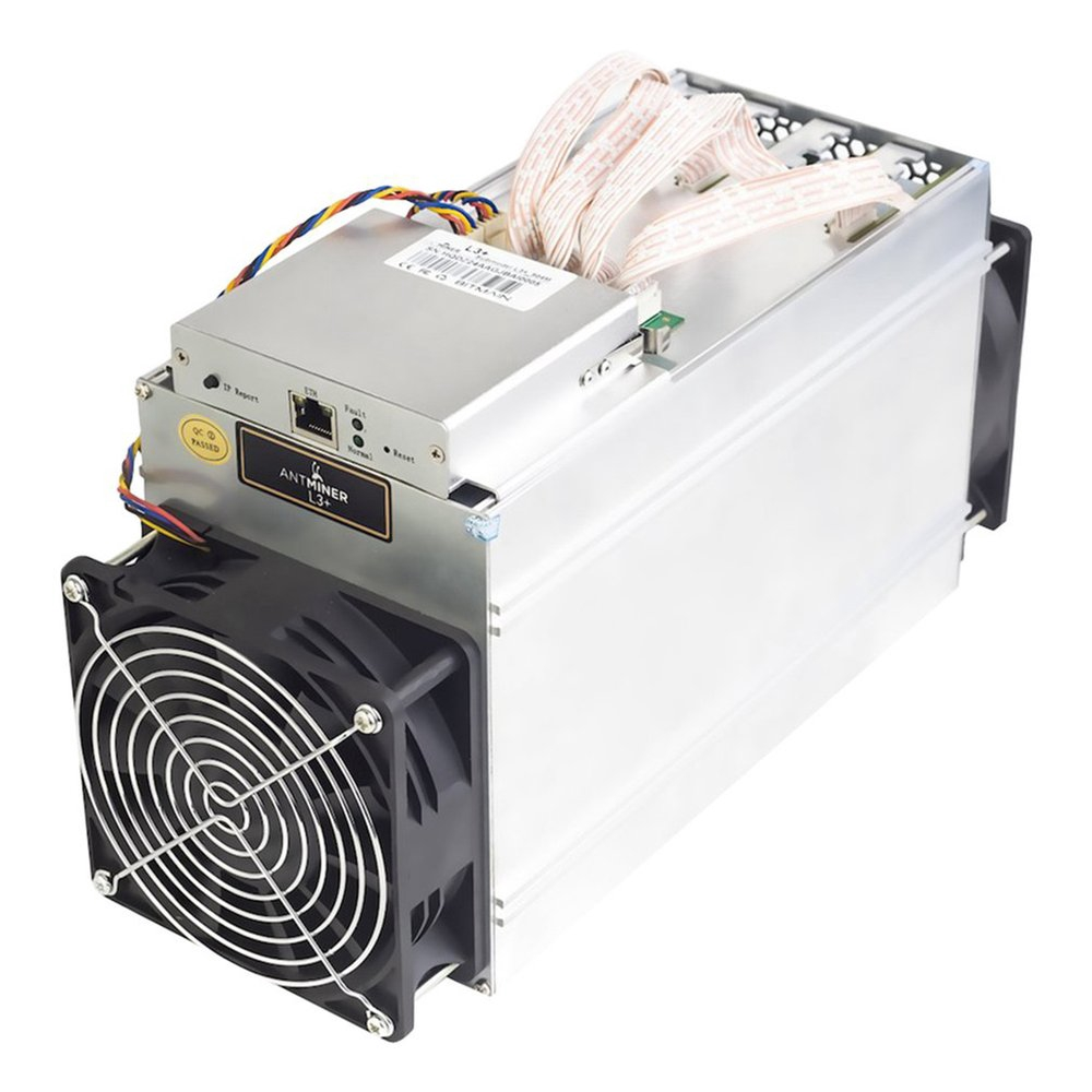 Hình ảnh Antminer L3+ 504MH/s Miner 800W On Wall Scrypt Miner Overheat Protection