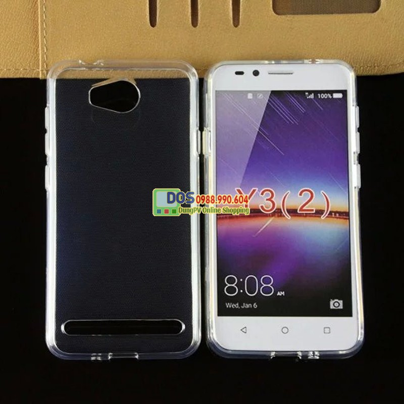 Ốp lưng Huawei Y3ii silicone