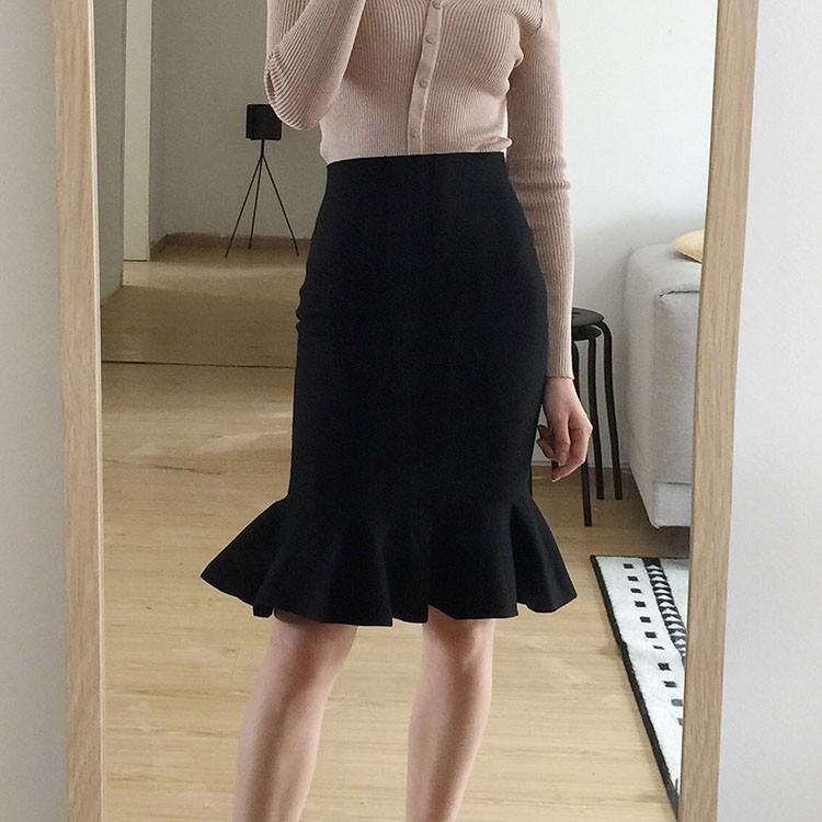 Chân váy đuôi cá dệt kim siêu đẹp