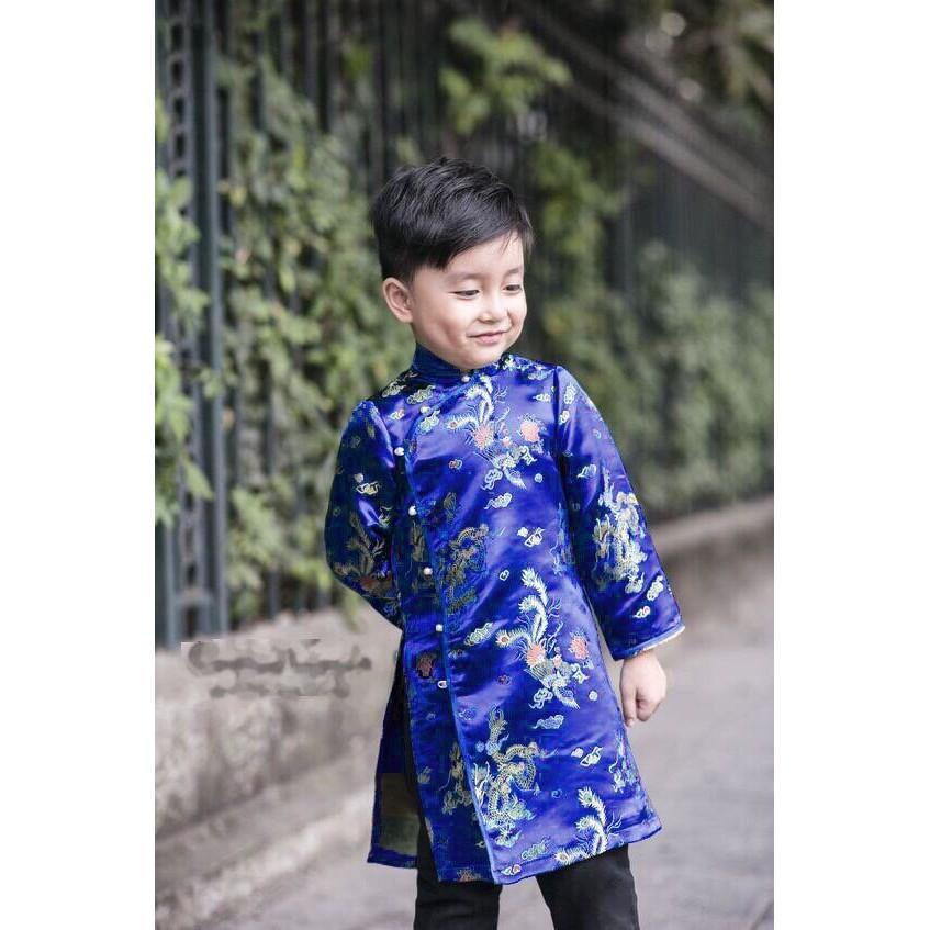 Set áo dài cách tân cho bé đáng yêu - combo set áo dài cách tân cho bé, giá rẻ cạnh tranh chất lượng tốt
