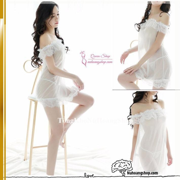 [Hàng Loại 1- Cao Cấp] Váy ngủ siêu mỏnggợi cảm VAY336A-đầm ngủ siêu mỏng siêu đẹp