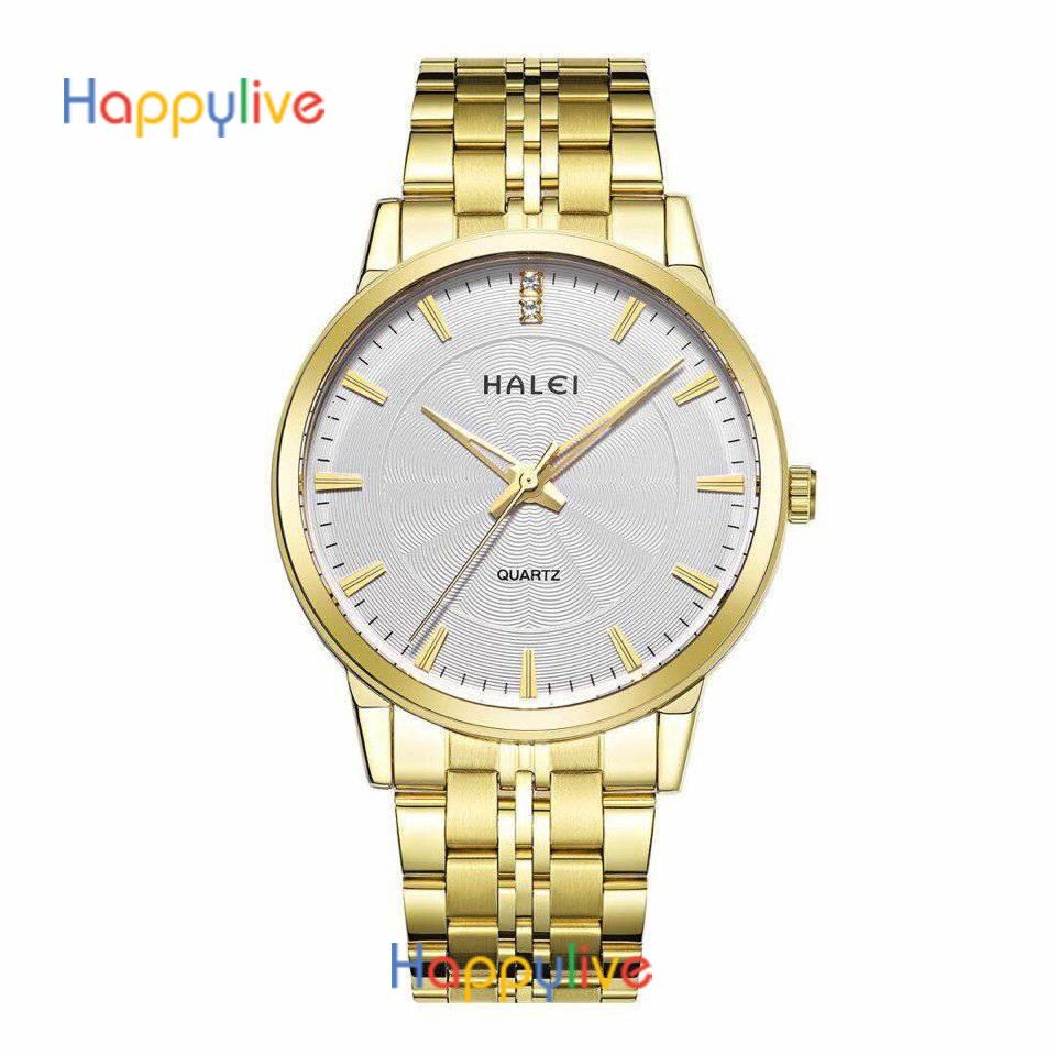[Mã WTCHJAN giảm 20K ] Đồng hồ nam Halei HL159 chống nước