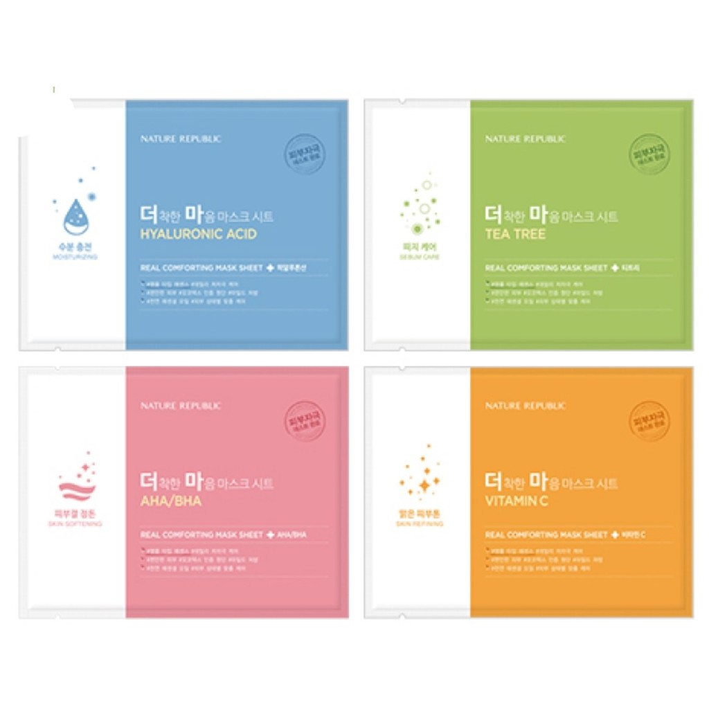 Mặt nạ nature republic real comforting mask sheet