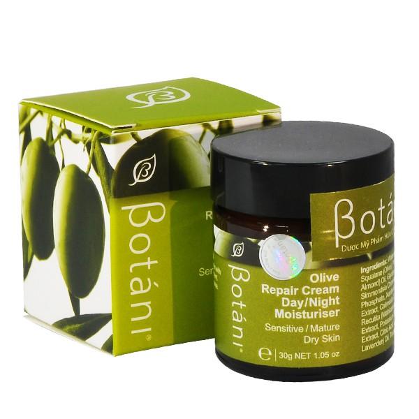 Kem dưỡng ẩm ngày và đêm Olive Repair Cream 30g - Botani