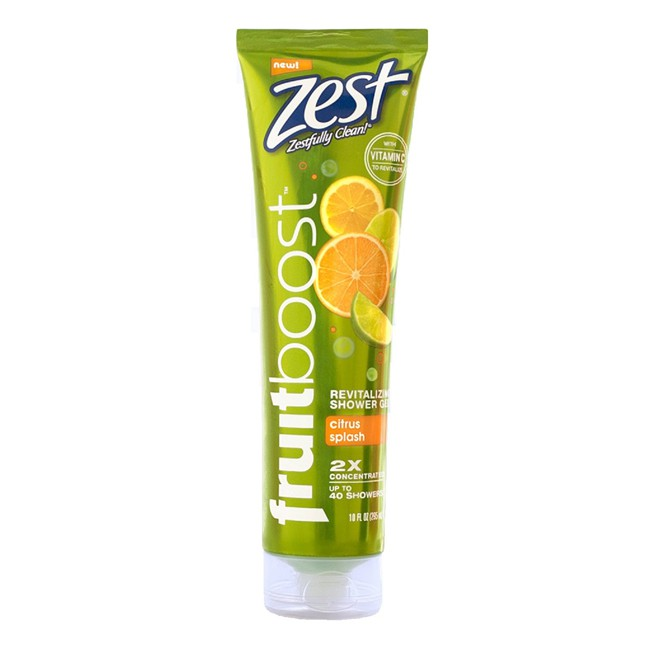Gel tắm Zest Fruitboost Citrus Splash - Mỹ - 295ml