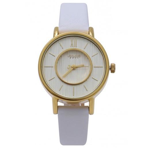 Đồng hồ nữ JULIUS JA1041 dây da trắng