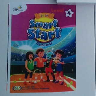 Flashcard smart start level 4 in khổ A5 2 mặt