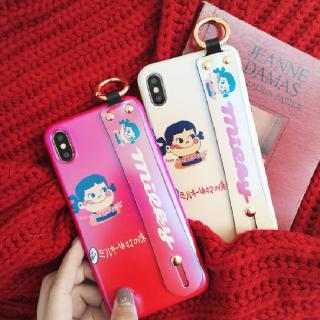New Iphone 6 6s 6p 7 8 7p 8p X Xr Xmax mobile phone soft case cover milk 7plus sister couple 15