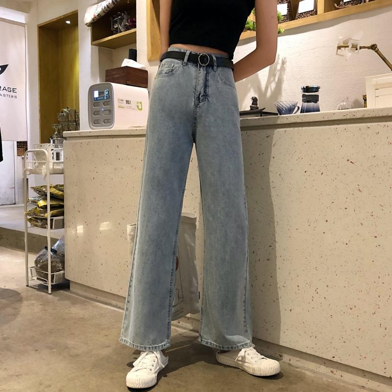 Quần Jean Ống Suông Form Hàn Quốc