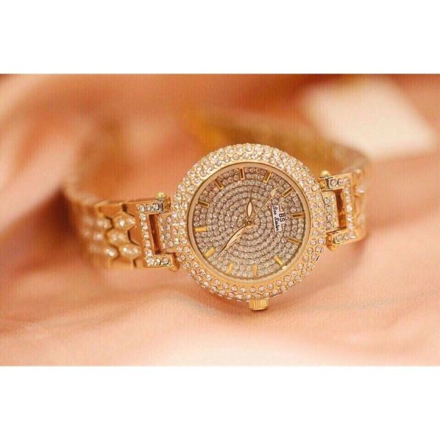 Đồng hồ BS.nữ thời trang .có 2mau trắng và vàng nhé .