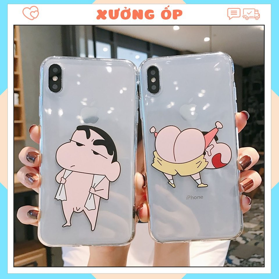 < IPHONE > Ốp lưng silicon Cu shin cho iphone