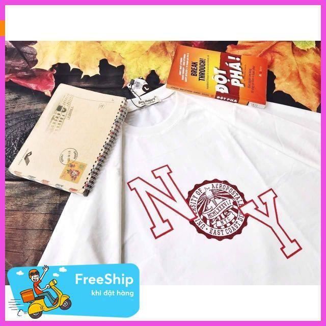 [ Giảm 50% ] Áo thun in NY thời trang áo thun mùa hè,áo đi chơi,áo thun in hình đẹp,áo thun nam cao cấp