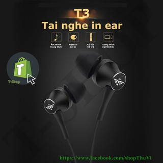 Tai Nghe In Ear T3 Super Bass