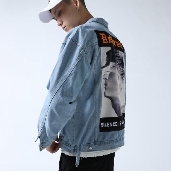 áo khoác denim cho nam