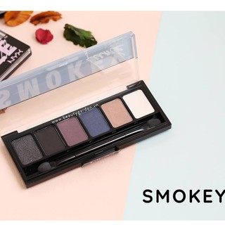 Phấn mắt NYX The Smokey Shadow Palette