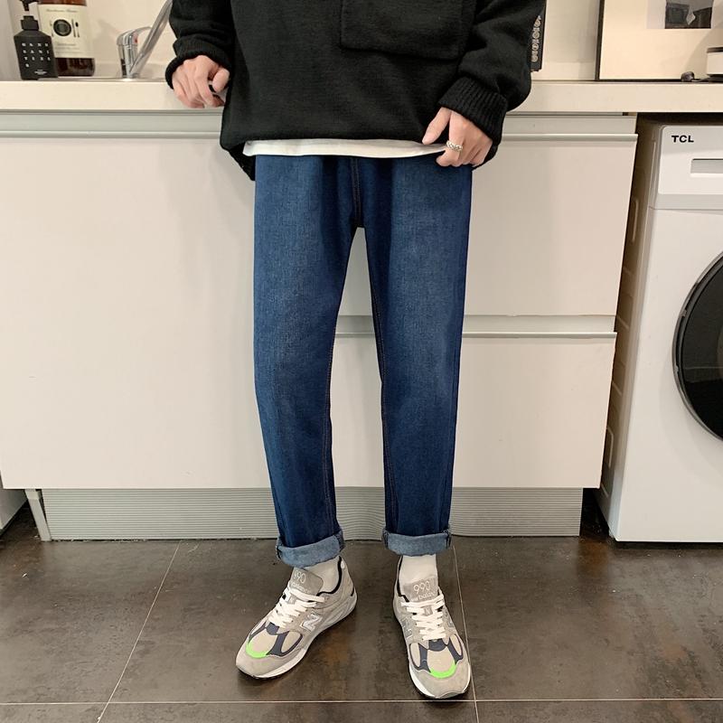 Quần Jeans Nam Ống Rộng Thời Trang 2020