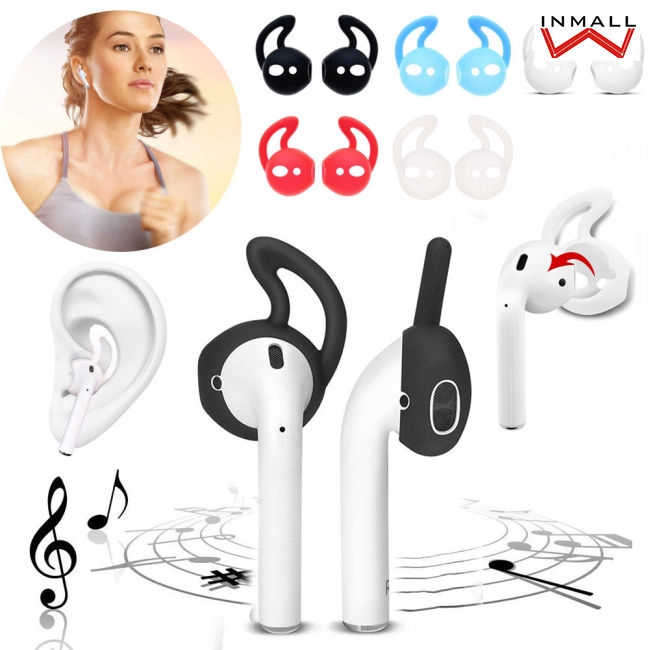 Hình ảnh 1/3/5 Pairs Ear Hook Earbud Headset Cover Holder for Apple AirPods Sport Accessories