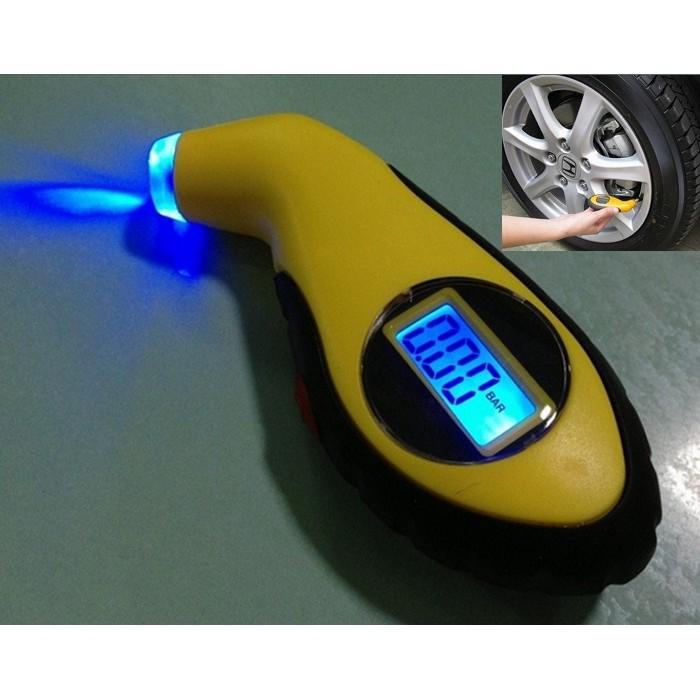 Đồng Hồ Đo Áp Suất Lốp Xe Điện Tử chuyên dụng cho ô tô xe máy Hando