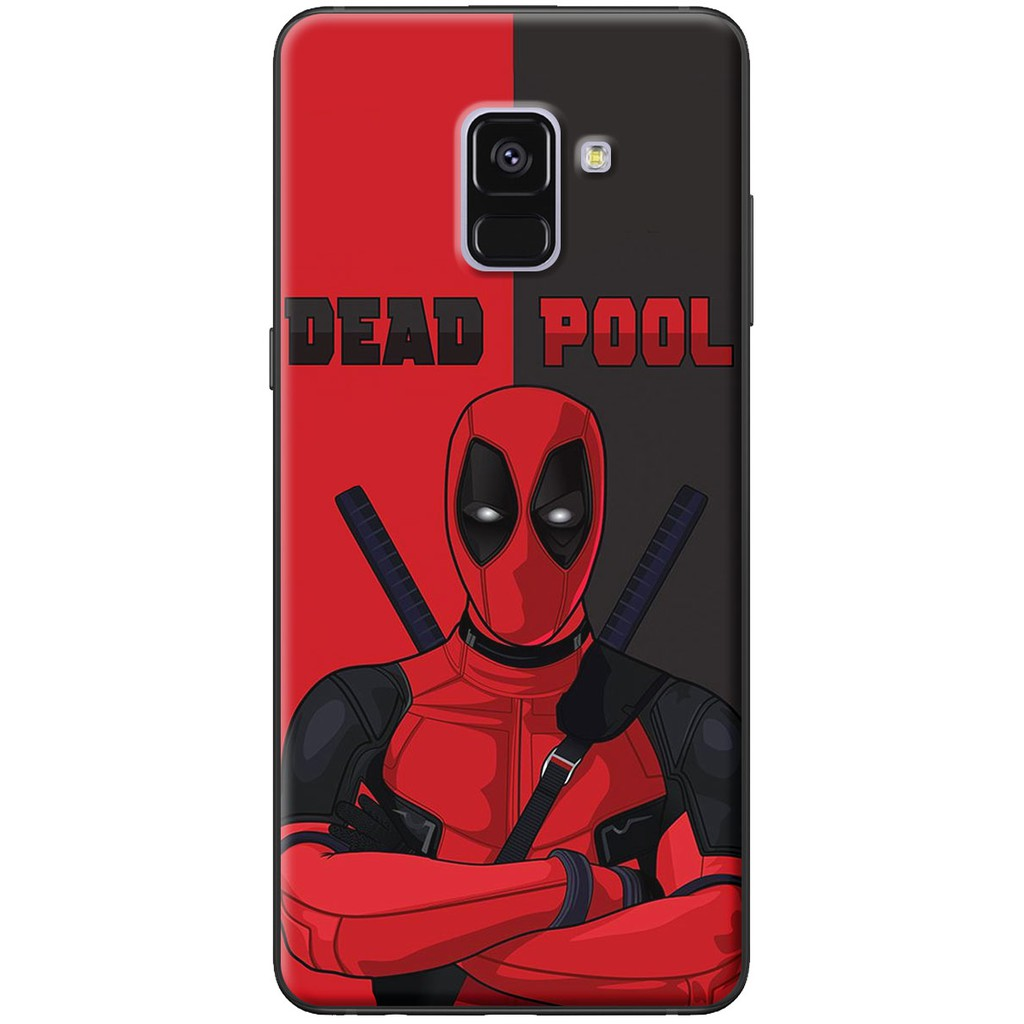 Ốp lưng Samsung A8 2015, A8 2018, A8 Plus Deadpool