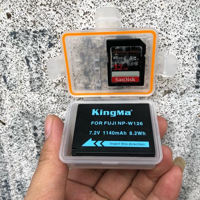 Hộp Đựng Pin Fujifilm NP-W126 - Chính Hãng Kingma