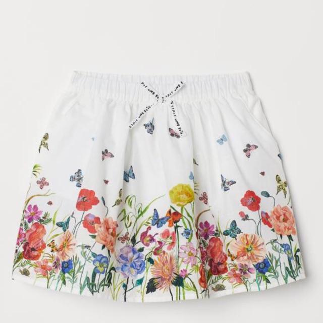 Chân váy hoa Nathalie