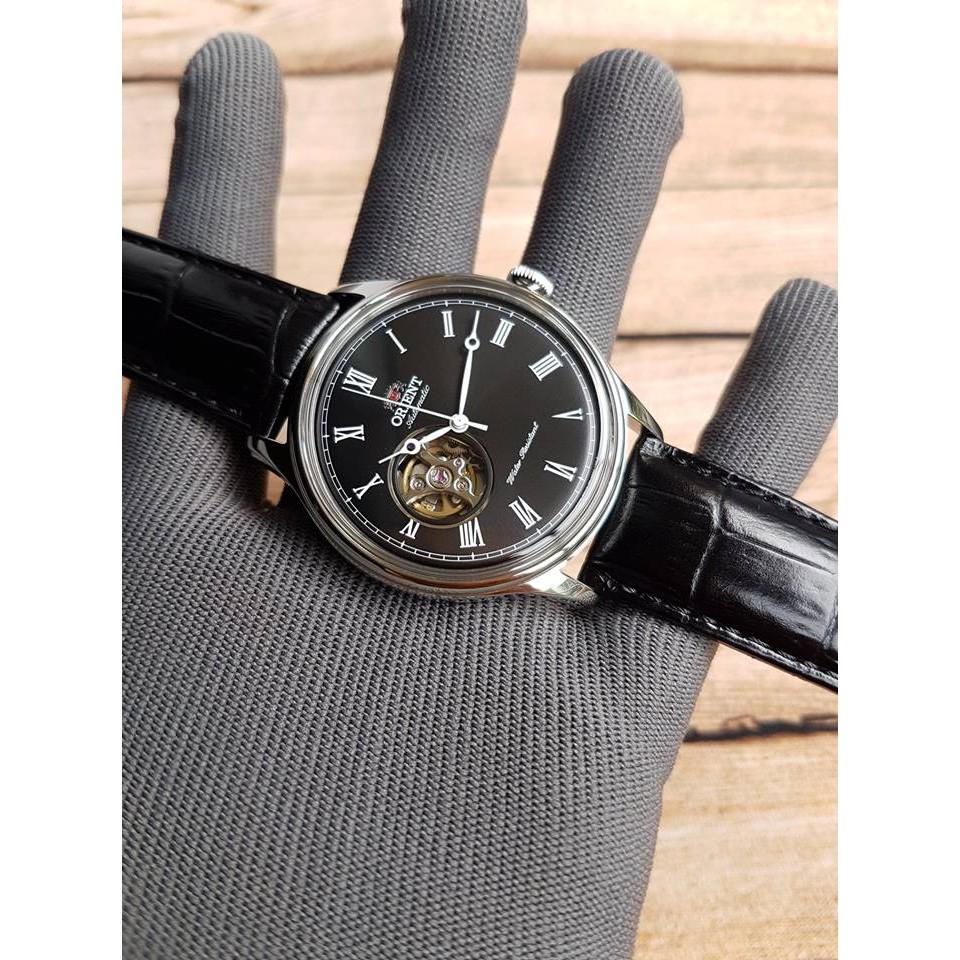 Đồng hồ nam Orient Caballero Black FAG00003B0 - Máy Automatic - Kính khoáng cứng cong - Dây da