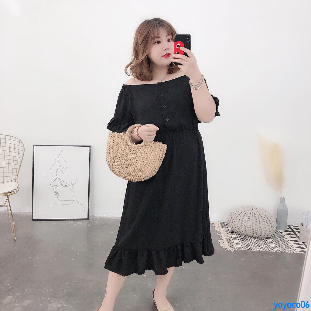 Hình ảnh Delivery on order 250000 spring and summer new large size women's short-sleeved strapless t-shirt female plus fat MM se