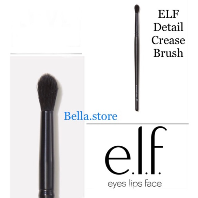 Cọ tán phấn mắt ELF Detail Crease Brush