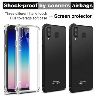 IMAK For Galaxy A9 Star/A8 Star Case Soft Silicone TPU Airbag Cover Case