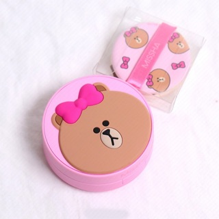 💗💗💓Missha x Line Friends Glow Tension CUSHION ✅