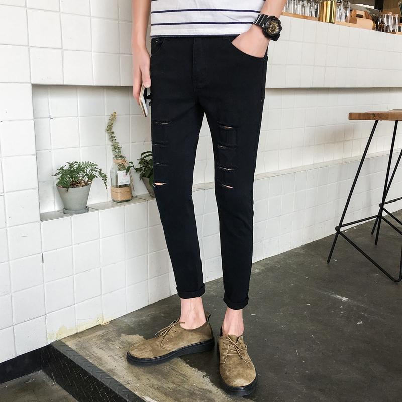 AQXshop.vn ✨trouser Korean men's clothing pants men multicolor wild men's Thời Trang Nam > Quần > Quần Jean