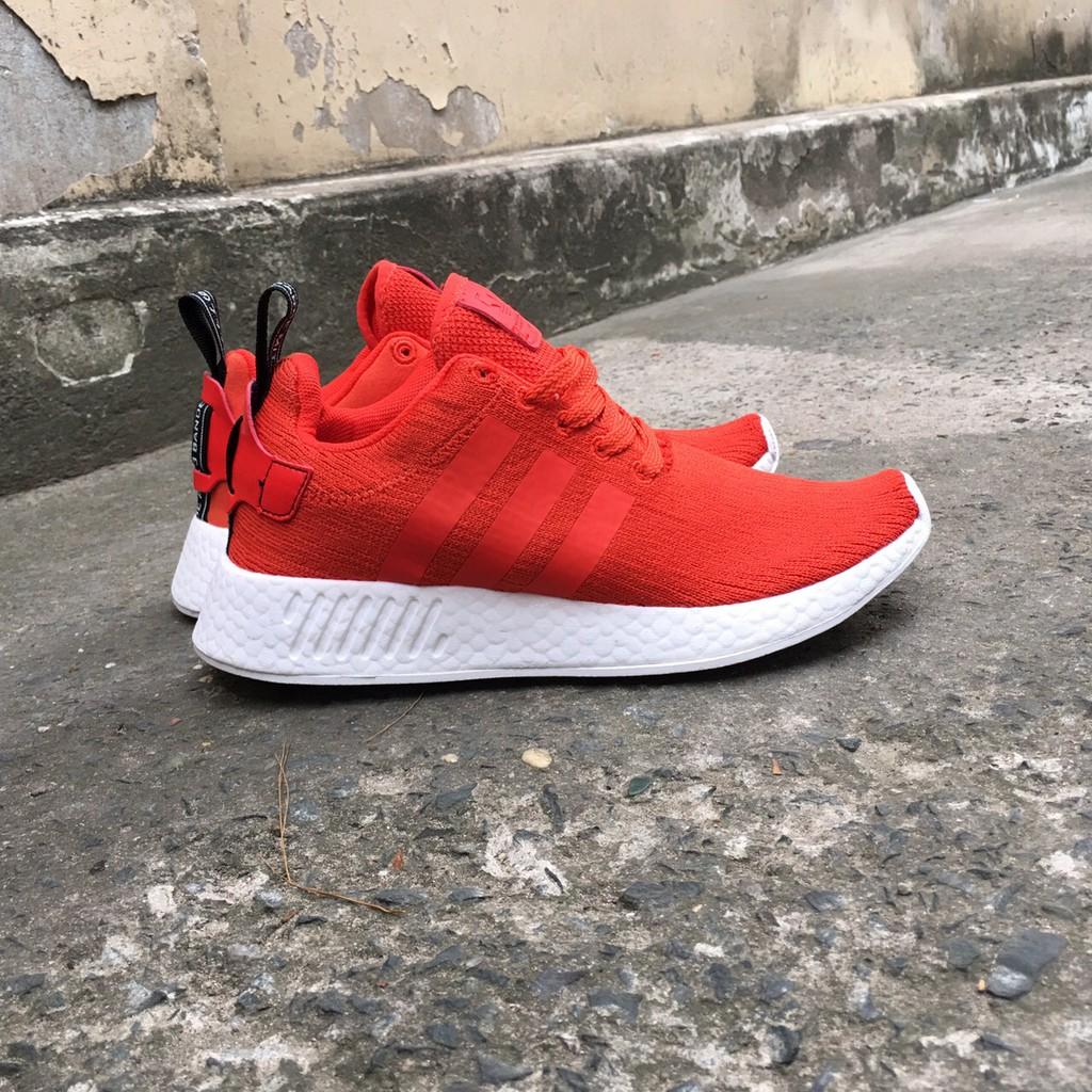 Giày NMD R2 đỏ cam