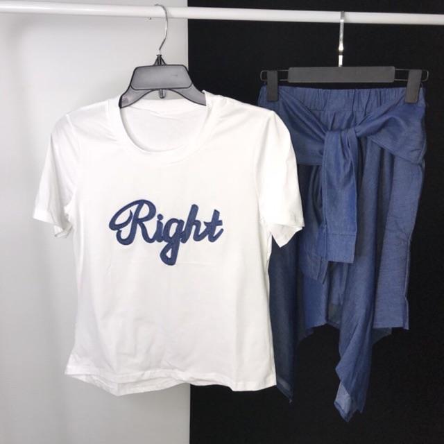 1498877076 - Set đầm jeans Right