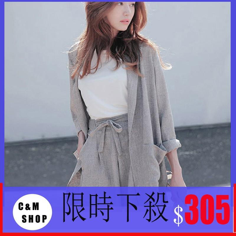 Set thời trang áo khoác+quần đùi lưng thun cá tính trẻ trung cho nữ