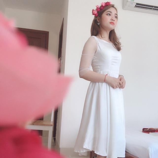 đầm xinh cô dâu
