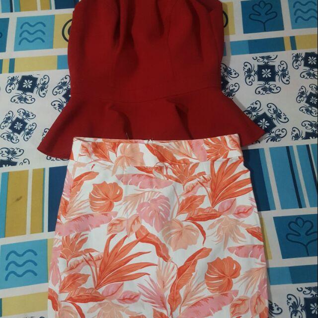 Chân váy và áo